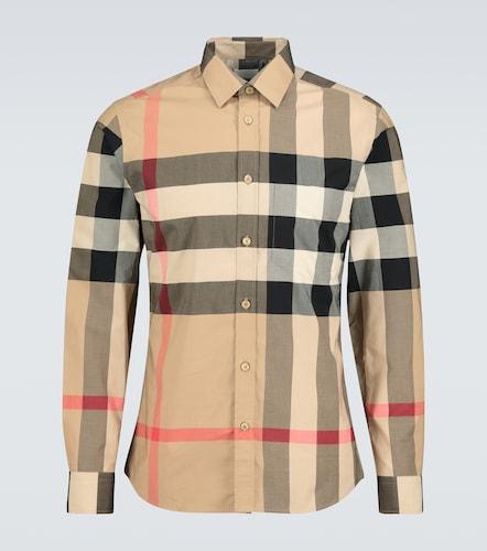 Chemise Somerton à carreaux - Burberry - Modalova