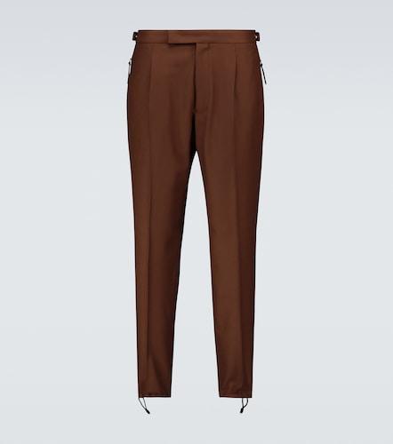 Pantalon en laine mélangée - Ermenegildo Zegna - Modalova