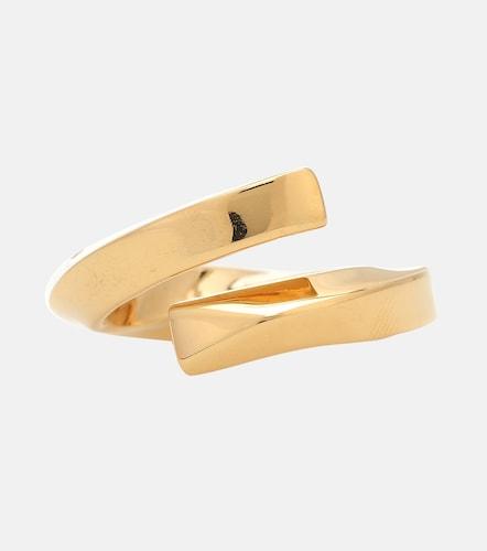 Bague en argent sterling plaqué or - Bottega Veneta - Modalova