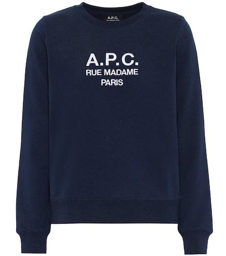 Sweat-shirt Tina imprimé en coton - A.P.C. - Modalova