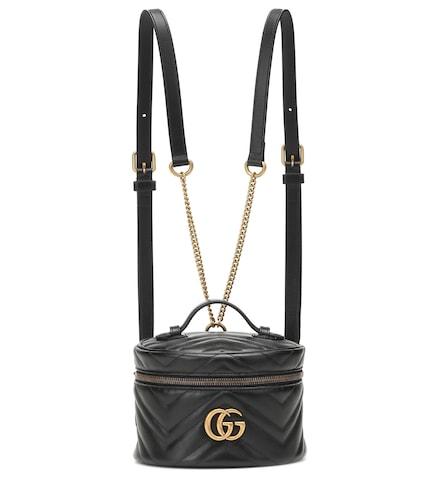 Sac à dos GG Marmont Mini en cuir - Gucci - Modalova