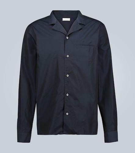Chemise en coton à manches longues - CARUSO - Modalova