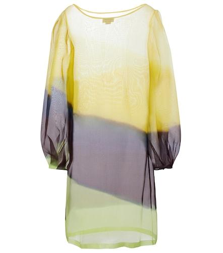 Robe en soie - Dries Van Noten - Modalova