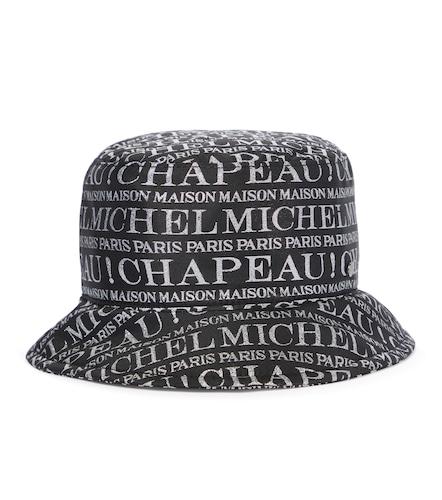 Chapeau bob Jason à logo - Maison Michel - Modalova