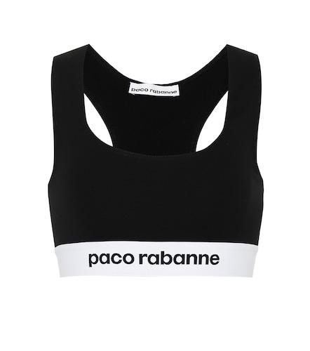 Brassière de sport Bodyline imprimée - Paco Rabanne - Modalova