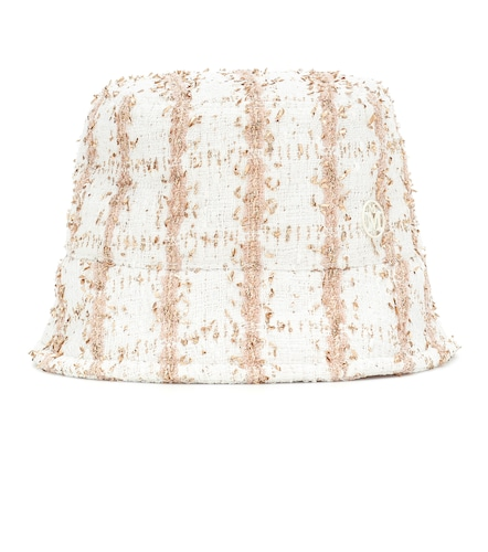 Exclusivité Mytheresa – Chapeau bob Axel en tweed - Maison Michel - Modalova