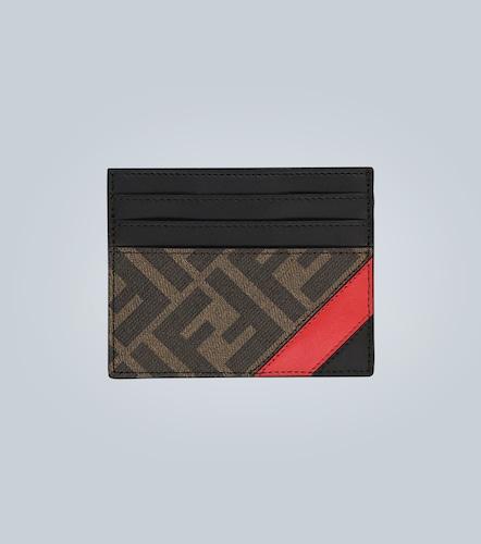 Porte-cartes en cuir avec logo - Fendi - Modalova