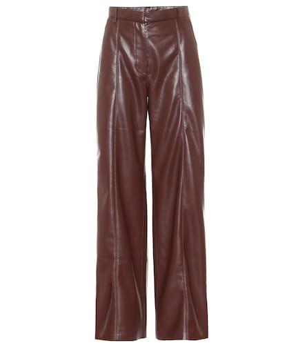 Pantalon Cleo en cuir synthétique à taille haute - Nanushka - Modalova