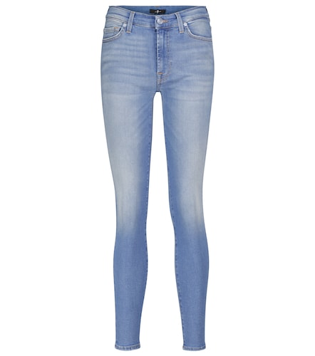 Jean skinny Slim Illusion Necessity à taille mi-haute - 7 For All Mankind - Modalova