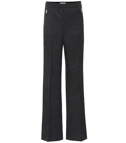 Pantalon droit en coton mélangé - Prada - Modalova