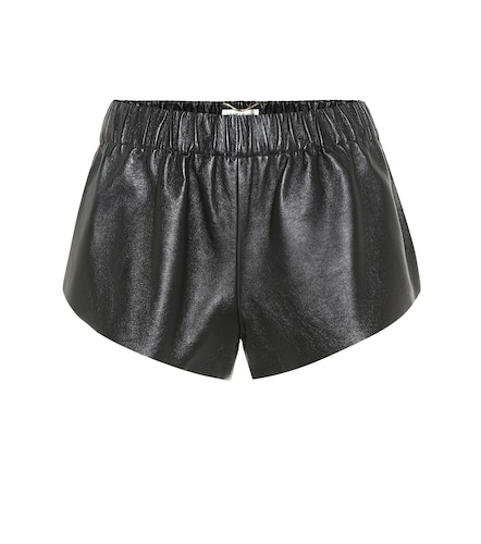Short en cuir - Saint Laurent - Modalova