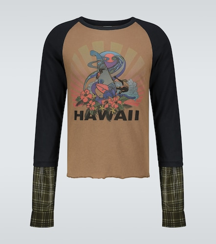 T-shirt Hawaii en coton - Dries Van Noten - Modalova