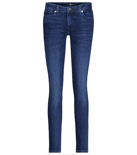 Jean Pyper Slim Illusion à taille basse - 7 For All Mankind - Modalova