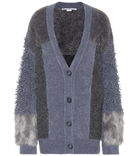Cardigan en laine mélangée - Stella McCartney - Modalova