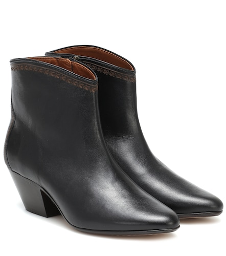 Bottines Dacken en cuir - Isabel Marant - Modalova