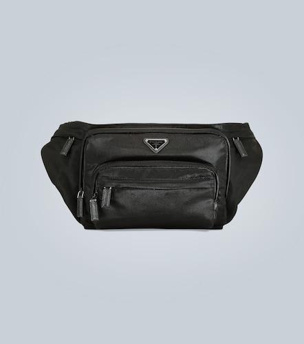Sac ceinture en nylon avec logo - Prada - Modalova