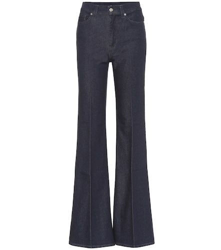 Jean flare Minimal à taille haute - 7 For All Mankind - Modalova