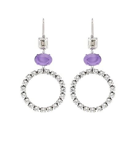 Boucles d'oreilles à cristaux - Isabel Marant - Modalova