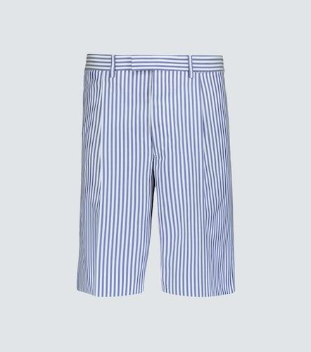 Short en coton à rayures - Prada - Modalova