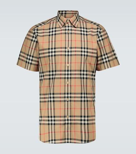 Chemise Caxton en coton à carreaux - Burberry - Modalova