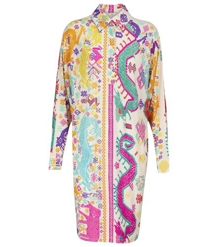 Robe chemise imprimée - ETRO - Modalova