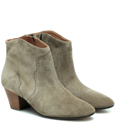 Bottines en daim Dicker - Isabel Marant - Modalova