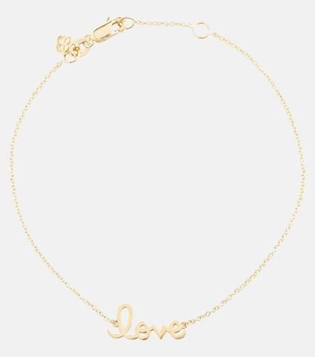 Bracelet Love en or 14 ct - Sydney Evan - Modalova