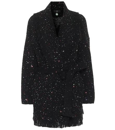 Cardigan Starry Night en laine et soie à sequins - ALANUI - Modalova