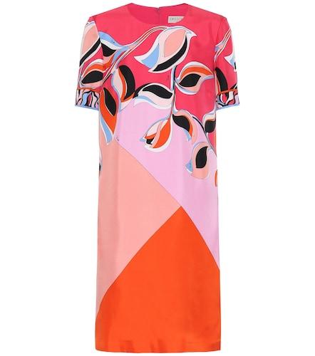 Robe imprimée en soie - Emilio Pucci - Modalova