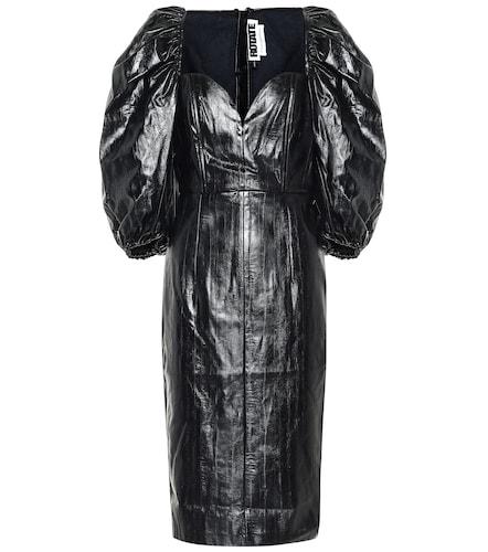 Robe midi Irina en cuir synthétique - ROTATE BIRGER CHRISTENSEN - Modalova