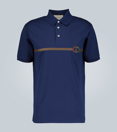 Polo oversize brodé - Gucci - Modalova