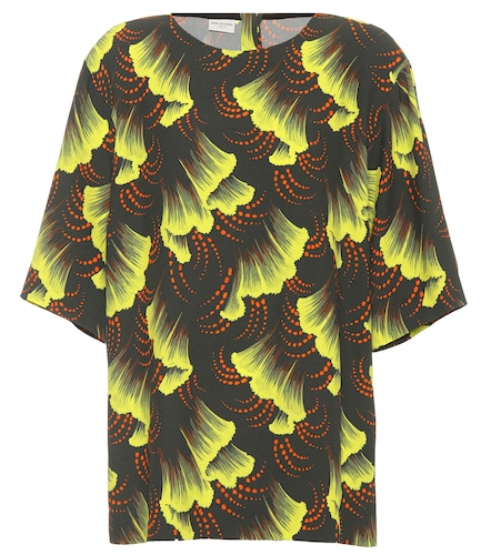 Top en crêpe imprimé - Dries Van Noten - Modalova