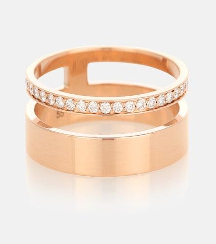 Bague Berbere Module en or rose 18 ct et diamants - Repossi - Modalova