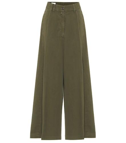 Pantalon ample en coton - Dries Van Noten - Modalova