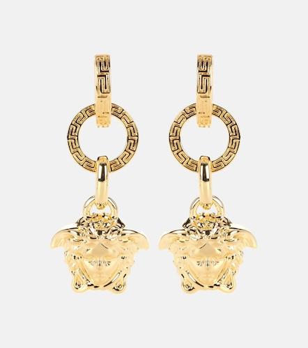 Boucles d'oreilles sculptées - Versace - Modalova