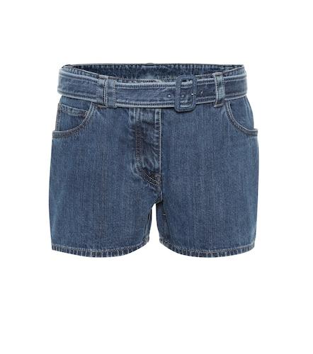Mini-short en jean - Prada - Modalova