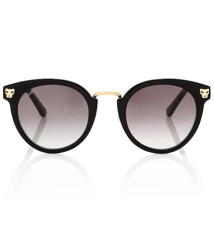 Lunettes de soleil Panthère de Cartier - Cartier Eyewear Collection - Modalova