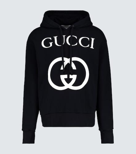 Sweat à capuche avec G entremêlés - Gucci - Modalova