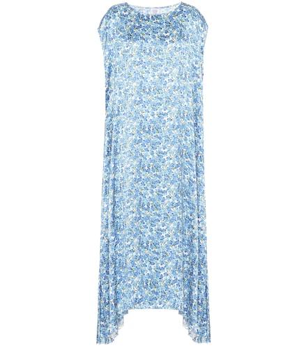 Robe longue imprimée - VETEMENTS - Modalova