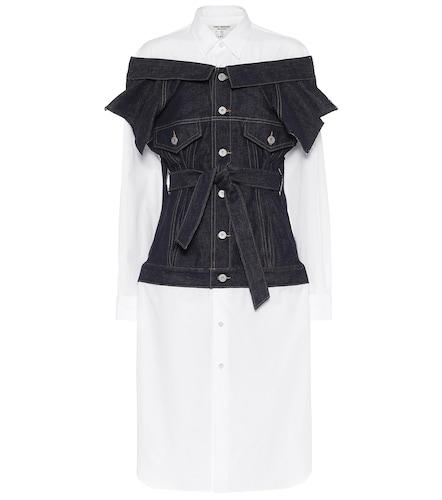 Robe en coton et jean - Junya Watanabe - Modalova