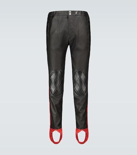 Pantalon en cuir - Alexander McQueen - Modalova