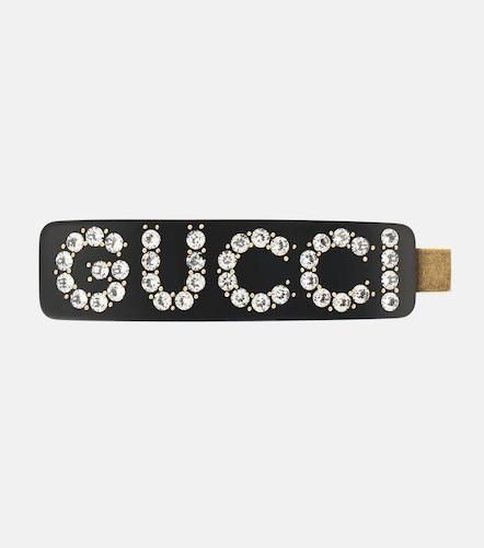 Barrette à cristaux - Gucci - Modalova