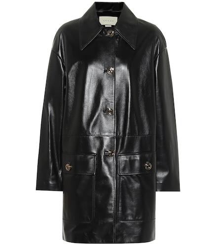 Manteau en cuir - Gucci - Modalova