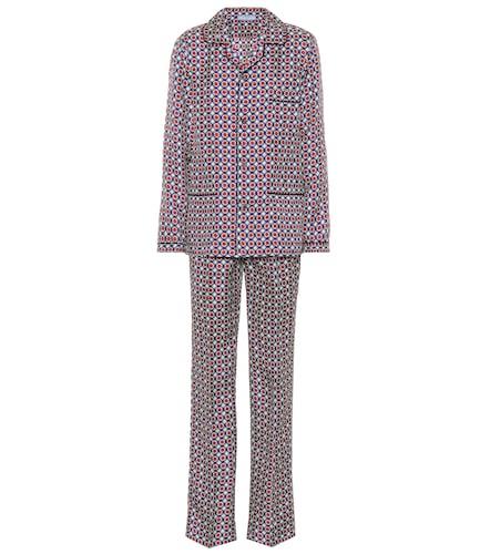 Ensemble de pyjama en soie imprimée - Prada - Modalova
