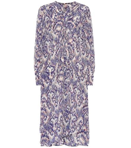 Robe Yana imprimée en crêpe de soie - Isabel Marant, Étoile - Modalova