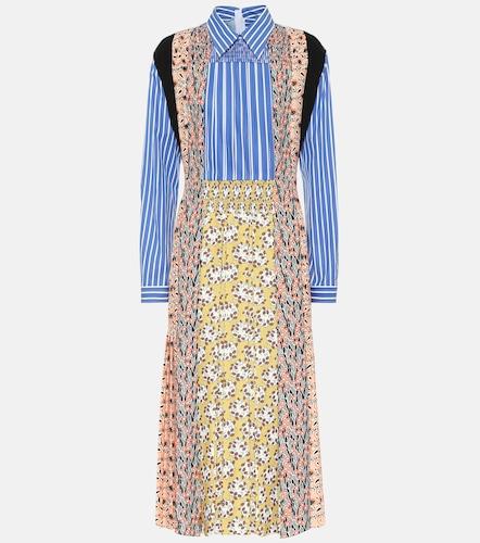 Robe imprimée et rayée - Prada - Modalova