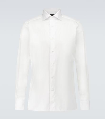 Trofeo long-sleeved cotton shirt - Ermenegildo Zegna - Modalova