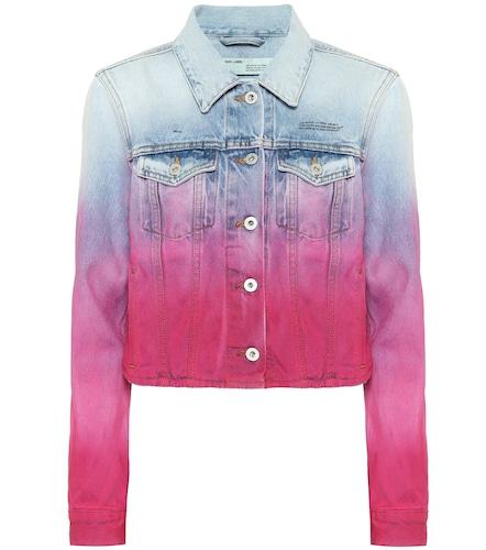 Veste en jean raccourcie - Off-White - Modalova