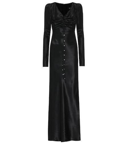 Robe longue Elena en satin - Ellery - Modalova