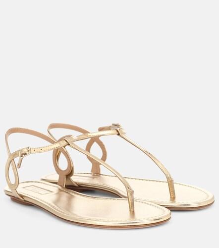 Sandales Almost Bare en cuir - Aquazzura - Modalova